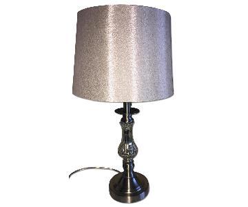 Raymour & Flanigan Beige Bedroom Lamp