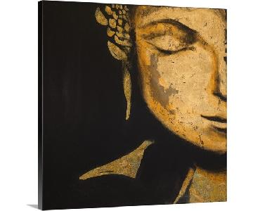 Great Big Canvas Zen Buddha Framed Print