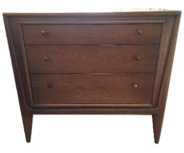 Mount Airy Vintage Mid Century Modern 3 Drawer Dresser