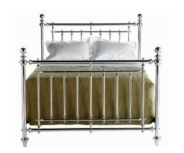 Macy's Martha Stewart Metal Queen Bed Frame