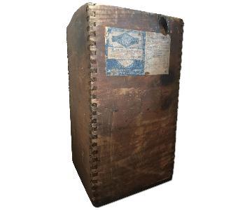 Rustic Distressed Wood Box