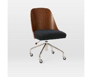 West Elm Bentwood Office Chair w/ Cushion