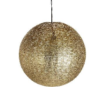 CB2 Pharaoh Pendant Light