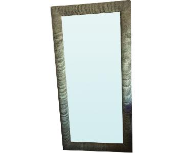 Crate & Barrel Oversize Floor Mirror