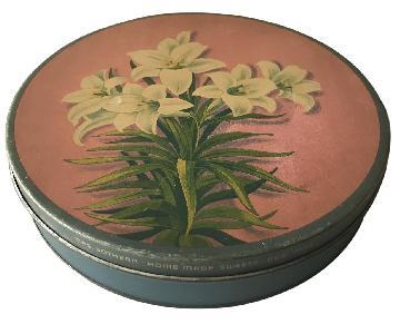 Vintage Mrs. Sothern Decorative Tin