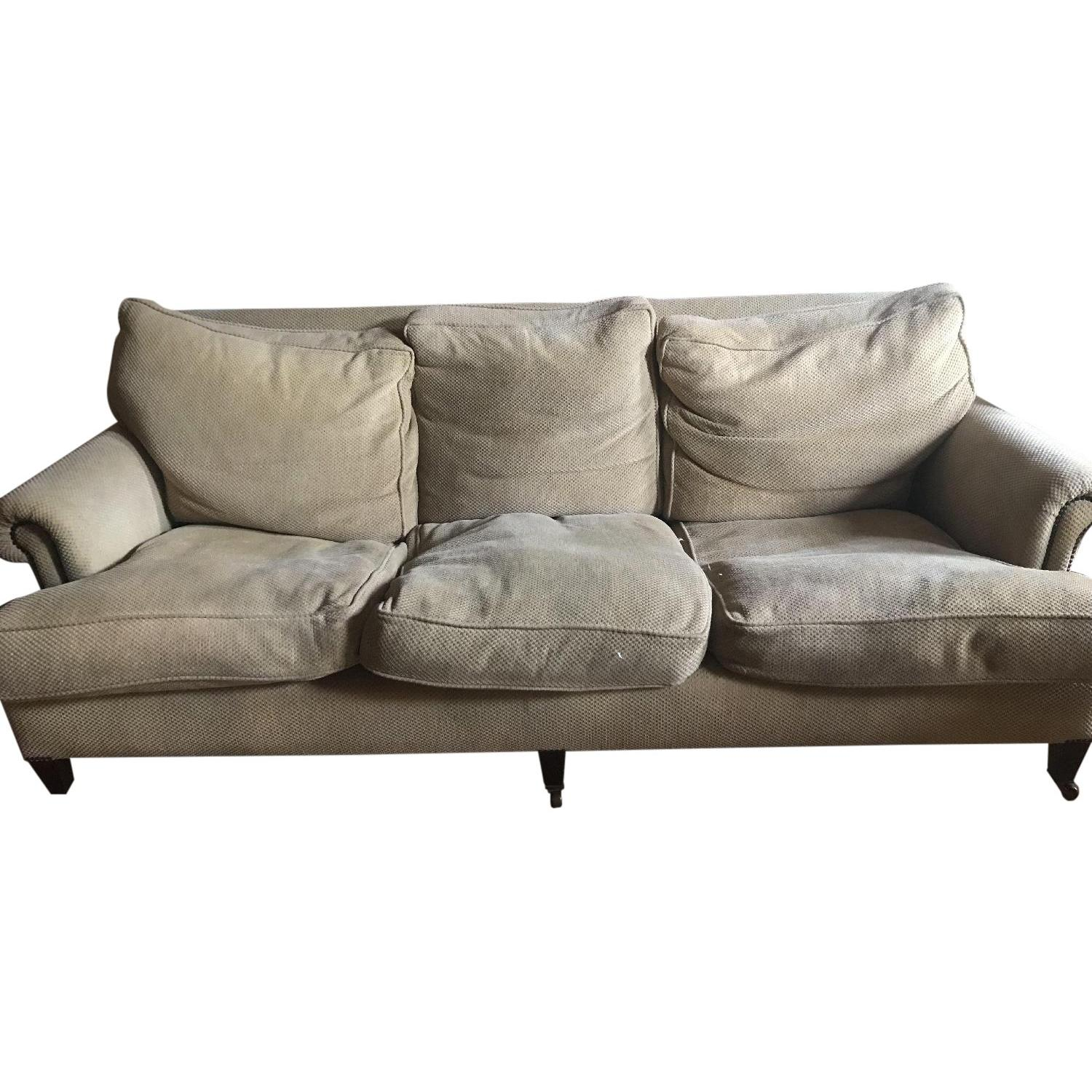 George Smith Studded Standard Arm 3 Seater Sofa ...