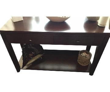 Crate & Barrel Kingston Console Table