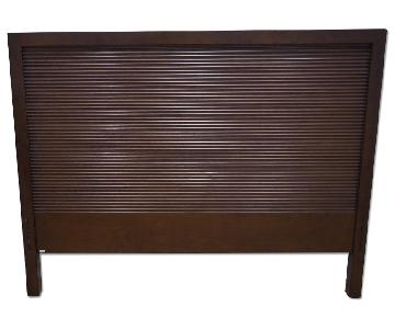 Crate & Barrel Full Bed Frame w/ Headboard
