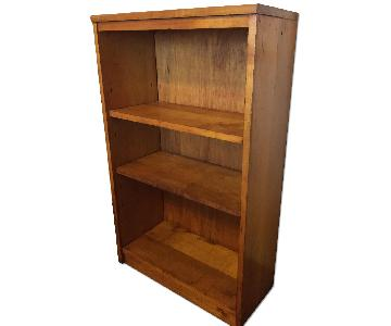 Vintage Maple Bookshelf