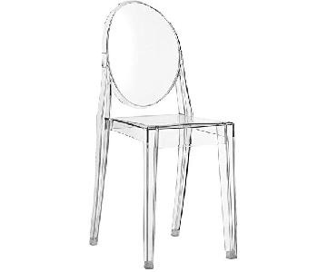 Victorian Ghost Clear Side Chair