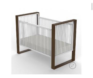 DucDuc Austin Crib in Natural Walnut