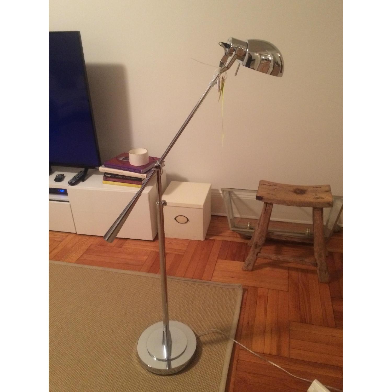Image of: Ralph Lauren Equilibrium Floor Lamp In Polished Nickel Aptdeco