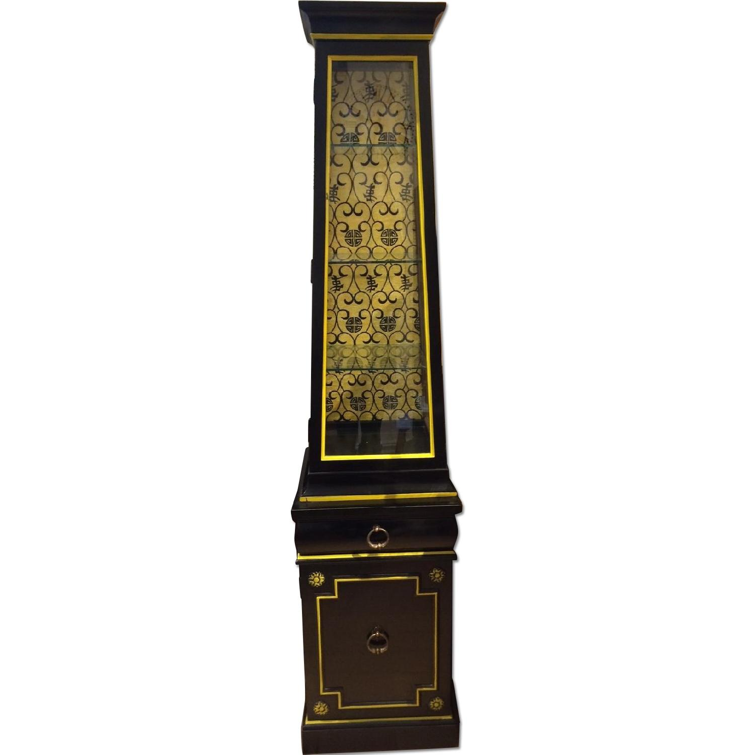 Thomasville Asian Style Curio Cabinet - 2 Available
