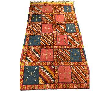 Moroccan Vintage Handmade Area Rug