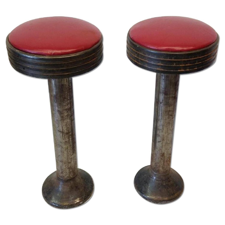 Vintage Swivel Bar Stools - 6 Available