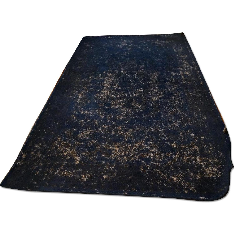 West Elm Limited Edition Bursa Rug in Distressed Ink/Indigo - image-0