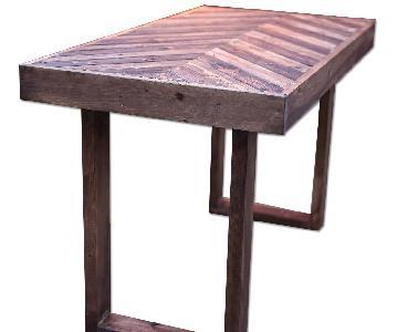 Handmade Rustic Dining Table