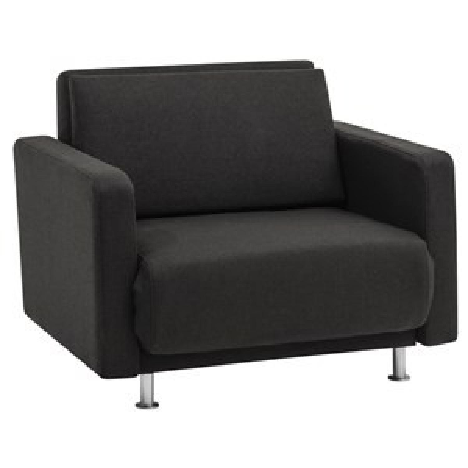 boconcept melo 2 sleeper sofa aptdeco. Black Bedroom Furniture Sets. Home Design Ideas