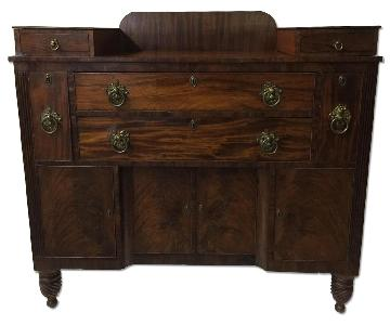 American Empire Mahogany Chest