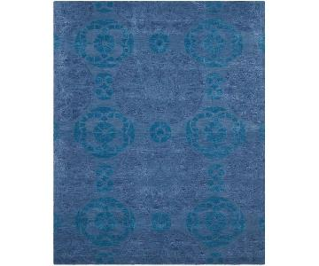 Safavieh Shades of Blue Wool & Viscose Rug