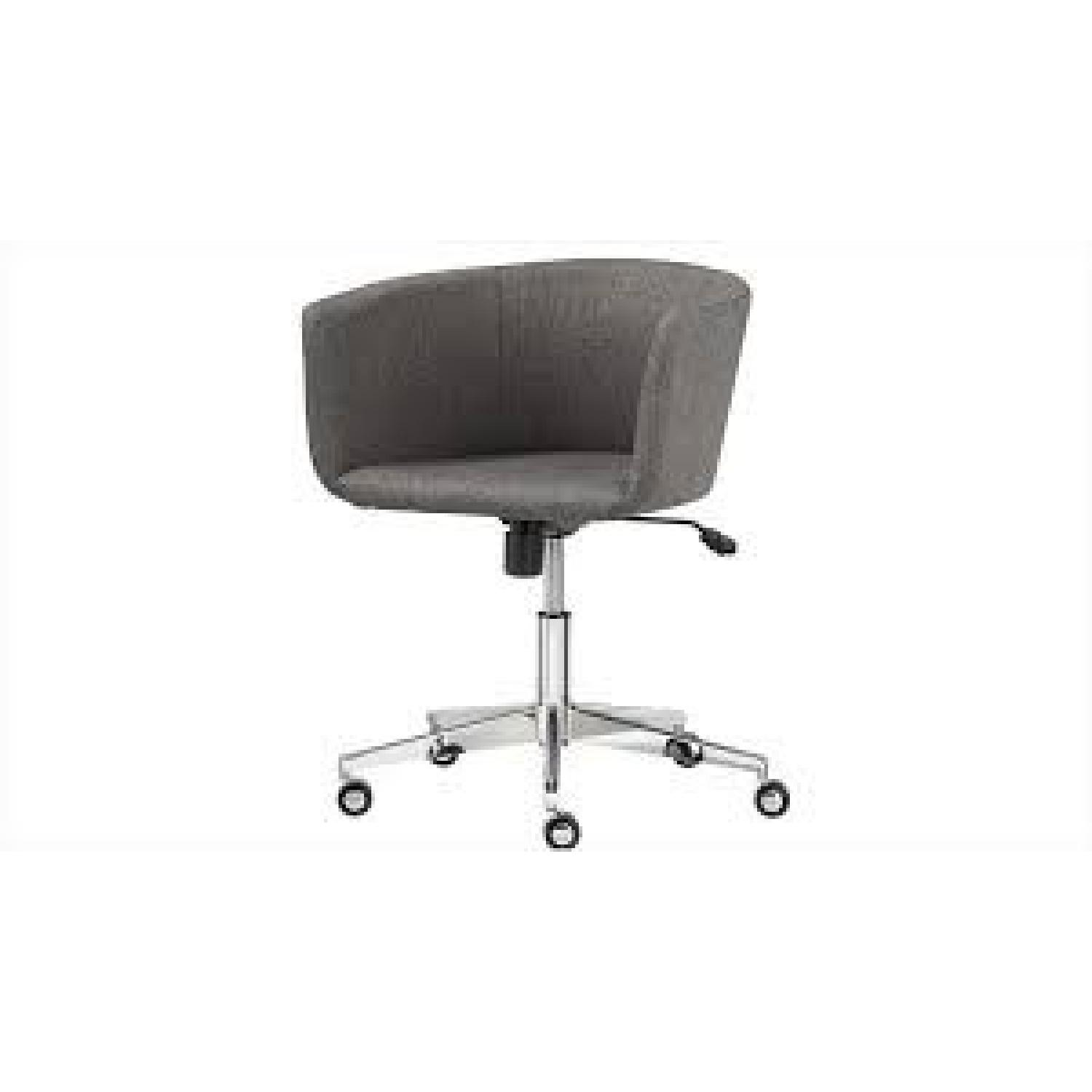 cb2 office. CB2 Coup Grey Tweed Office Chair Cb2