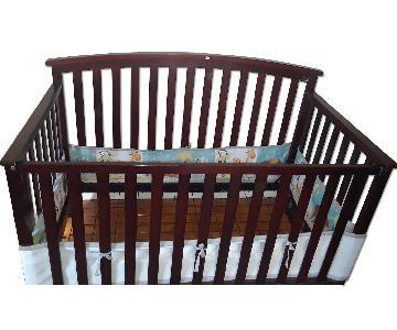 Wood Toddler's Crib/Bed