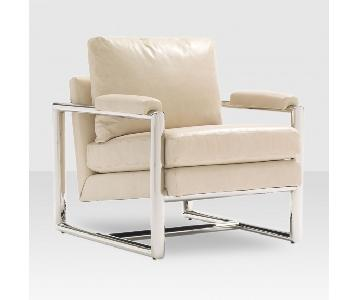 Mitchell Gold + Bob Williams Presley Natural Leather Chair