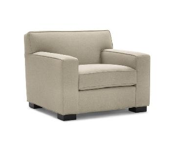 Mitchell Gold + Bob Williams Jean-Luc Chair in Natural