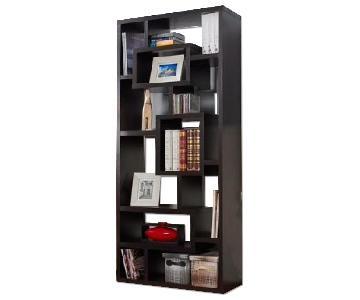 West Elm Asymmetrical Bookshelves