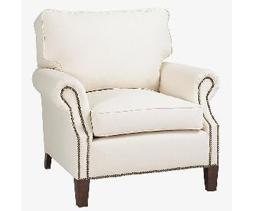 Ballard Designs Stratford Chair & Ottoman