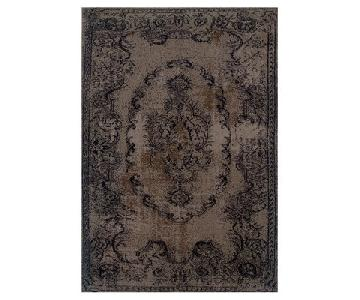 Renaissance Brown/Black Persian Wool Rug