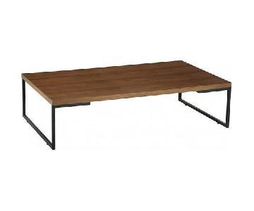 Myron Walnut Rectangular Coffee Table