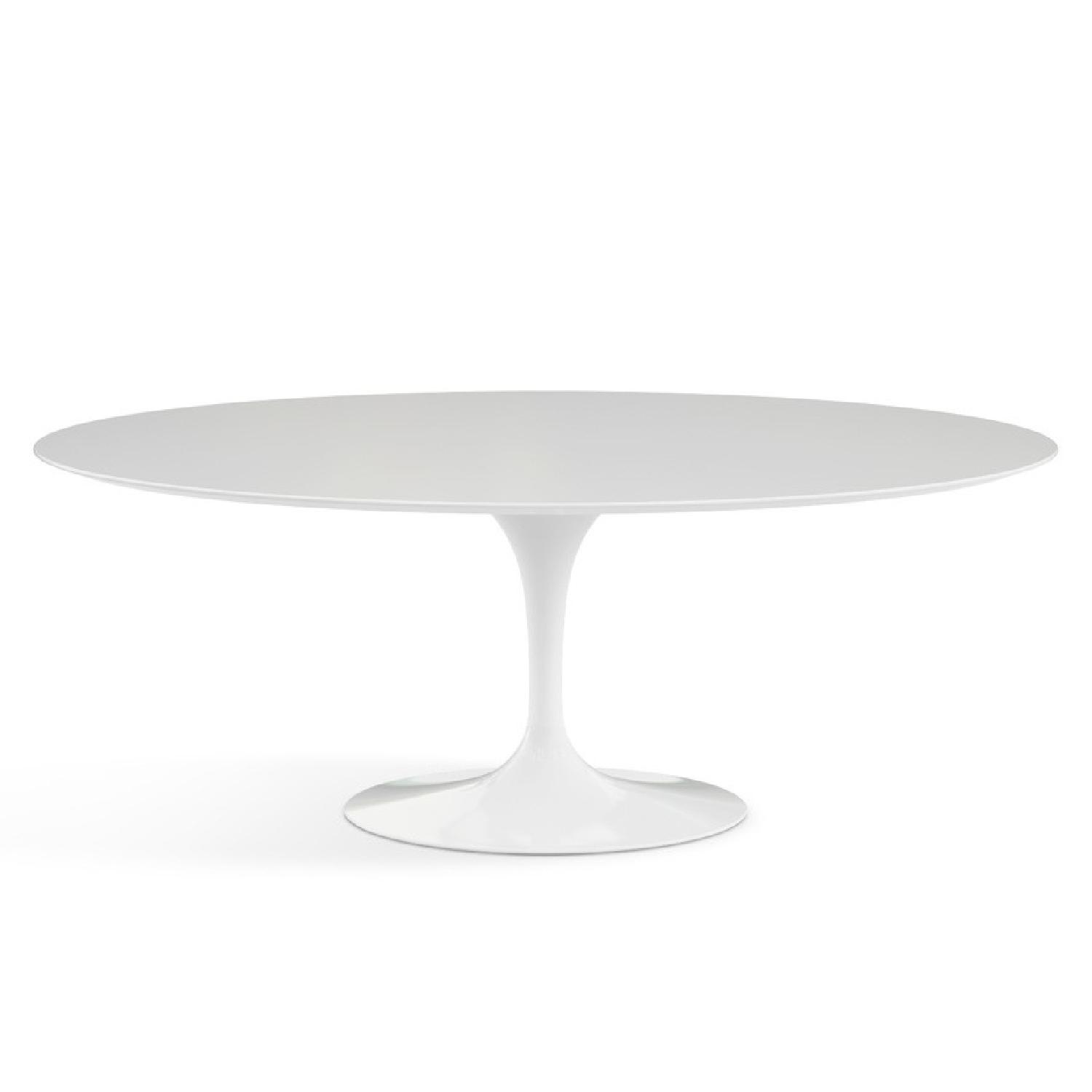 Eero Saarinen Oval Dining Table