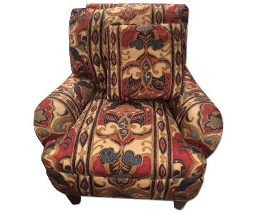 Patterned Agnes Bourne Armchair