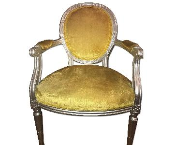 Citrus Yellow Accent Chair