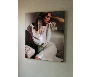 Mounted Fashion Photo Print