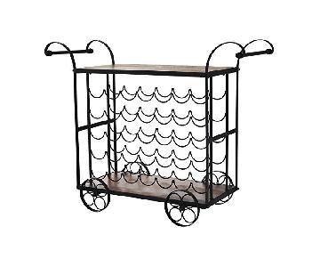 Wheeled Wine Rack/Bar Cart
