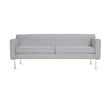 Design Within Reach Theatre Sofa in Steel Grey