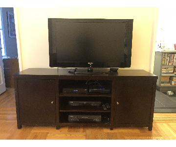 Wood Media Cabinet