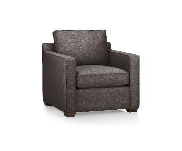 Crate & Barrel Davis Armchair in Graphite