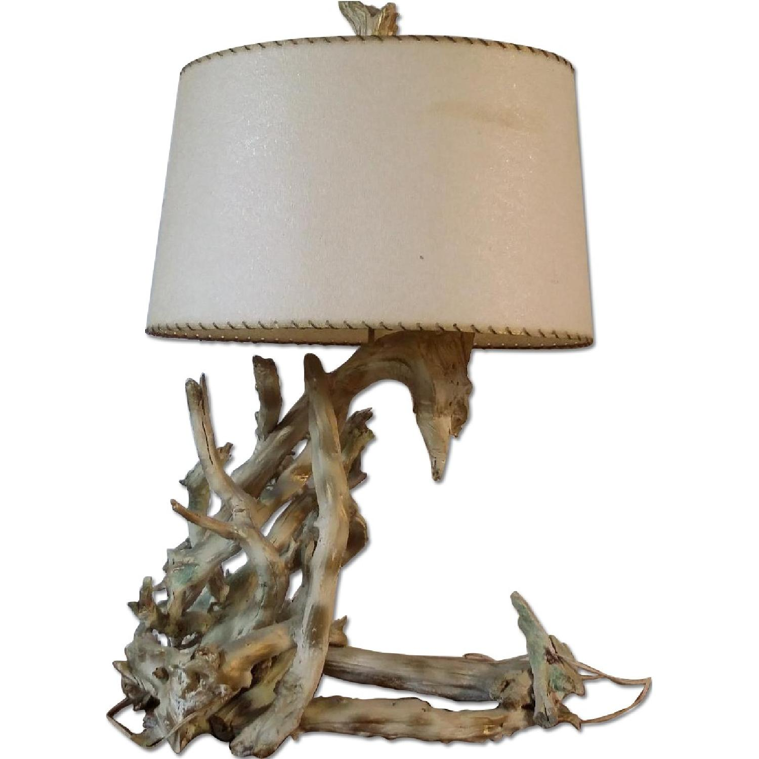 Driftwood Mid-Century Table Lamp