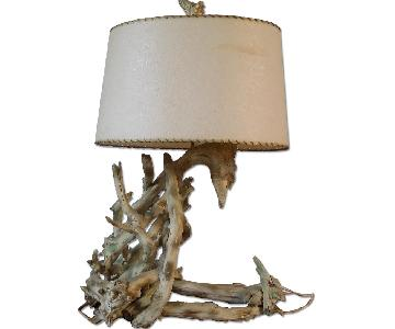 Driftwood Mid-Century Table Lamp