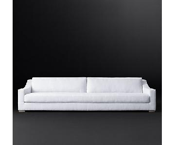 Restoration Hardware Modena Slope Arm Sofa