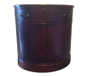 Home Decorator's Collection Demilune Cabinet w/ Storage