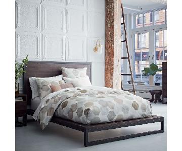 West Elm Logan Industrial Queen Bed