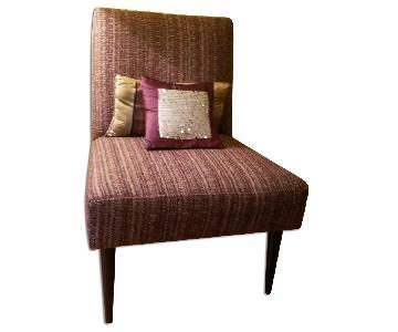 Crate & Barrel Mid-Century Slipper Chair