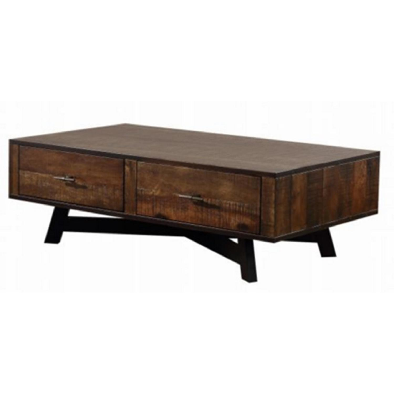 Cb2 Mid Century Coffee Table: Mid Century Style Coffee Table In Tobacco Finish