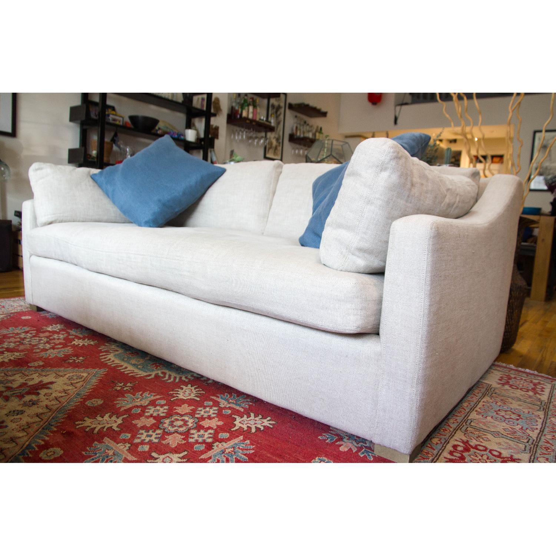 ... Restoration Hardware Belgian Classic Slope Arm Sofa 3 ...