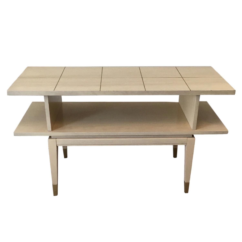 Lane Mid Century Console Bar Table Aptdeco