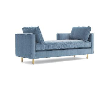 Mitchell Gold + Bob Williams Hunter Lounger in Blue
